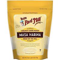 Bob's Red Mill Golden Masa Harina Corn Flour, 624 g