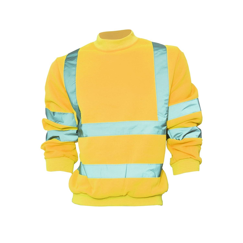 Yoko Unisex Hi-Vis Heavyweight Sweatshirt