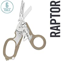 LEATHERMAN - Raptor Shears, Tan with MOLLE Compatible Holster (FFP)