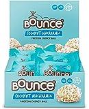 Twelve Bounce Coconut and Macadamia Balls - 12 x 40g
