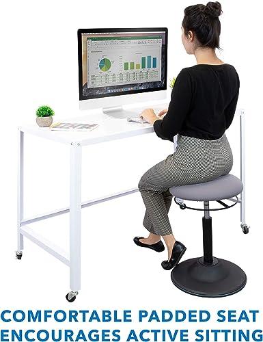 Mount-It Standing Desk Stool | Ergonomic Sit Stand Desk Chair