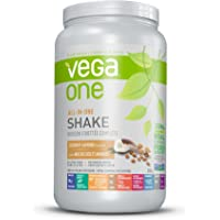 Vega One All-In-One Plant Based Protein Powder Coconut Almond (20 Servings, 1.84 lb) - Plant Based Vegan protein, Non Dairy, Gluten Free, Non GMO