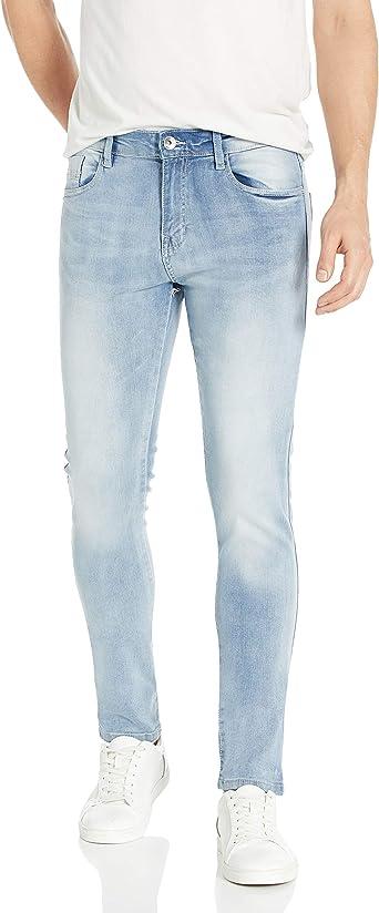 Amazon Com Southpole 9181 Super Skinny Tech Pantalones De Mezclilla Elasticos Para Hombre Clothing