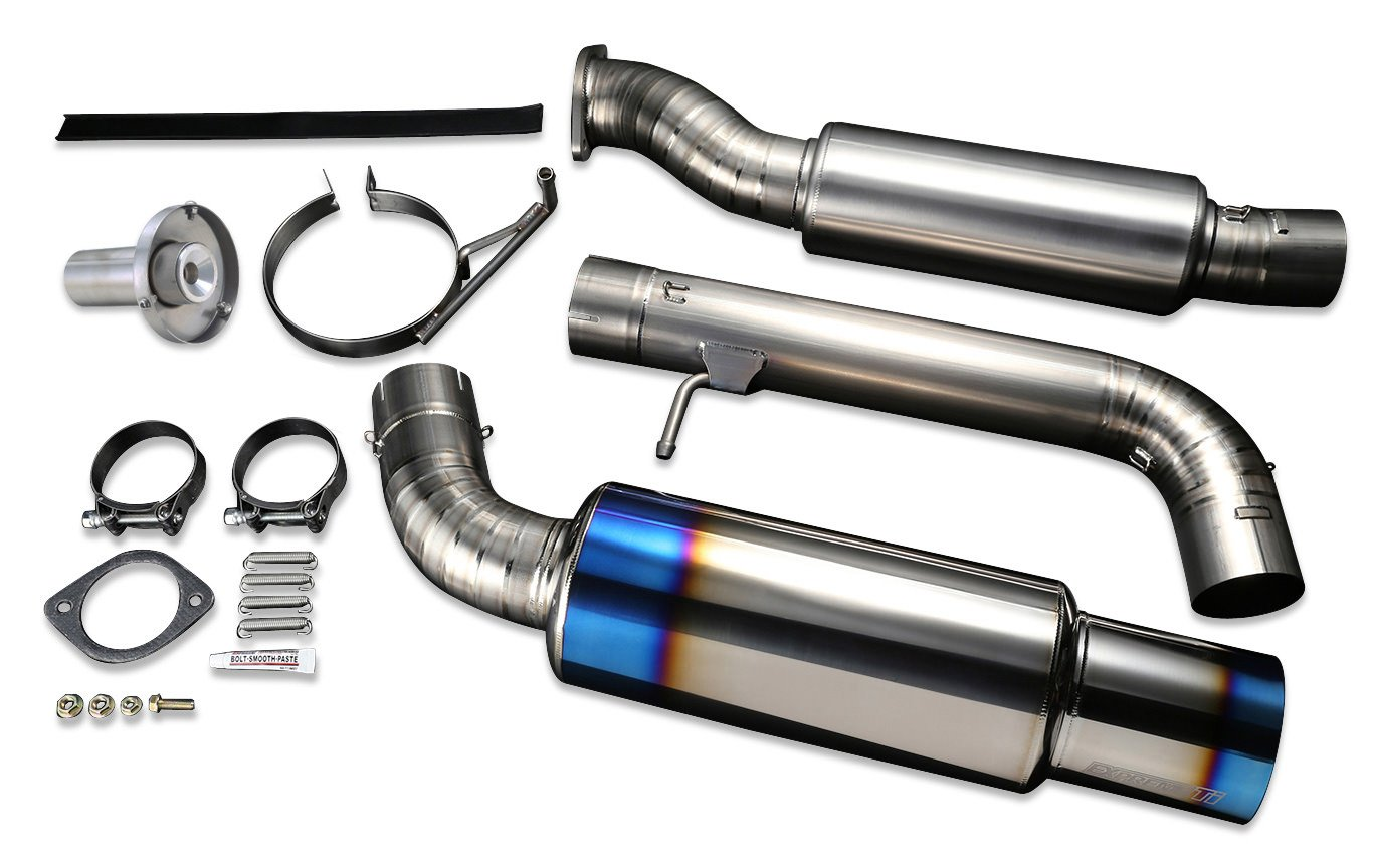 1. Tomei Expreme Ti Titanium Exhaust System for Nissan 370Z Z34 VQ37VHR - TB6090-NS02A.