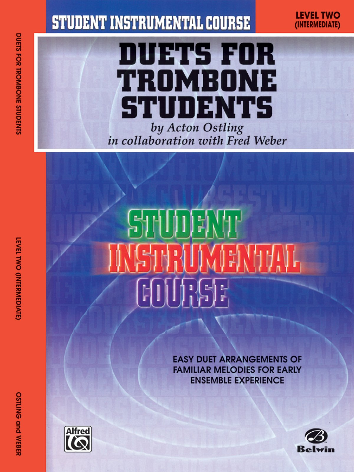 Student Instrumental Course Duets for Trombone Students: Level II
