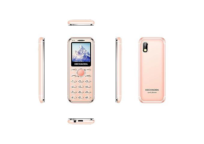 KECHAODA K115 DUAL SIM CARD PHONE(ROSEGOLD) BY SS