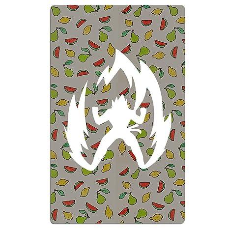 fengziya Dragon Ball Z Saiyan Simple Logo baño/toalla de playa para adultos/31