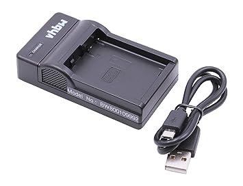 Cargador Micro USB vhbw para cámara Panasonic Lumix DMC ...