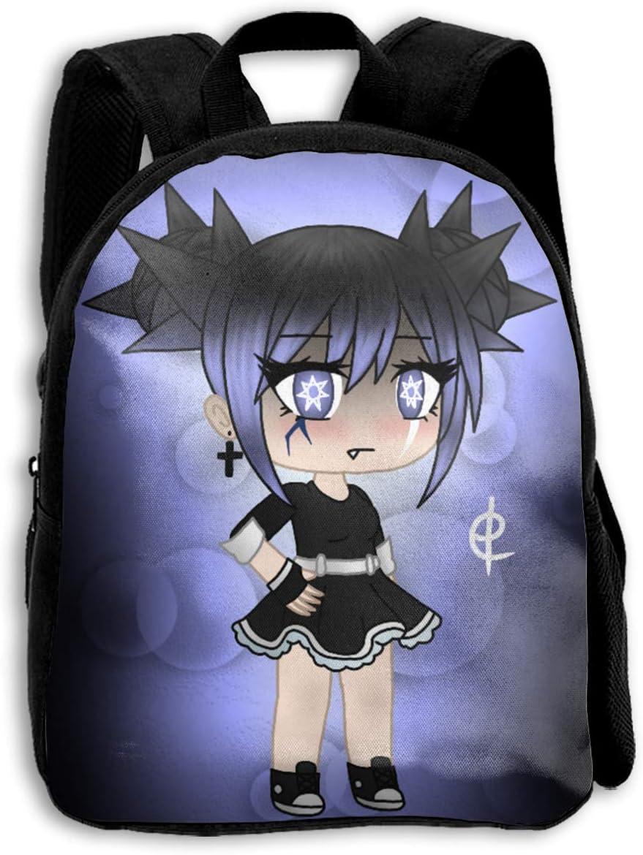 Ameliaa Gacha Life Fashion Backpack Laptop School Bag for Kids 13.410.63.5 in