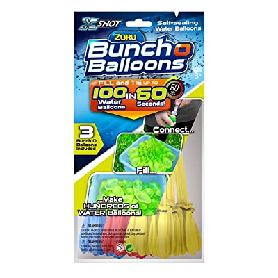 Bunch O Balloons X Shot 01213 Zuru Rapid Foil Bag Toy: Toys & Games