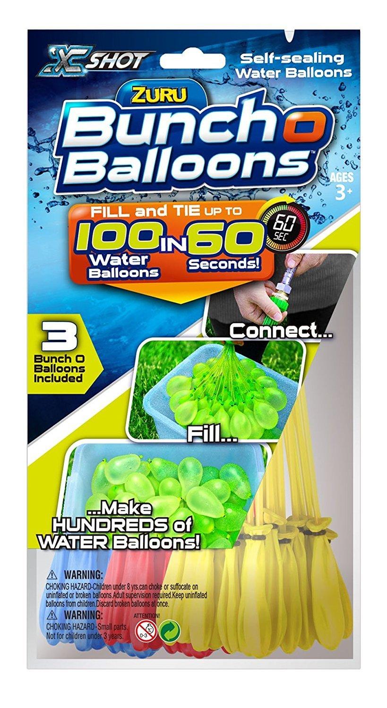 Bunch O Balloons X Shot 01213 Zuru Rapid Foil Bag Toy by Bunch O Balloons