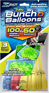 Bunch O Balloons X Shot 01213 Zuru Rapid Foil Bag Toy
