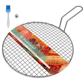 Fivebop multiusos red de alambre de Cruz Ronda de refrigeración para cocinar al vapor de acero