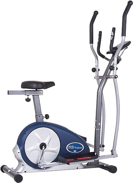 Body Max Cuerpo Champ 2 en 1 Doble de Cardio Trainer/elíptica y Bicicleta estática Vertical con corazón tasa de Entrenamiento, Ordenador Resistencia Ejercicio máquina: Amazon.es: Deportes y aire libre
