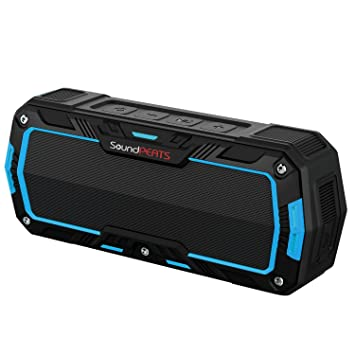 outdoor bluetooth speakers. soundpeats p3 outdoor ip65 water resistant portable bluetooth speaker(blue) speakers o