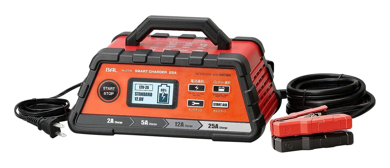 BAL(大橋産業) 充電器  スマートチャージャー  25A 自動車農機建設機械など 2708 B071J87W3C