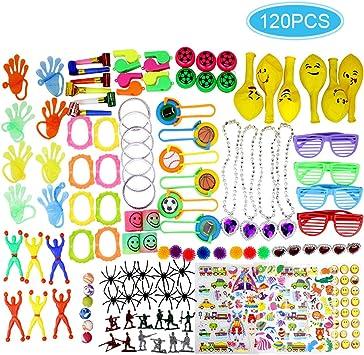 Clerfy Acc Surtido de 120 Juguetes para Rellenar piñatas y Bolsas ...