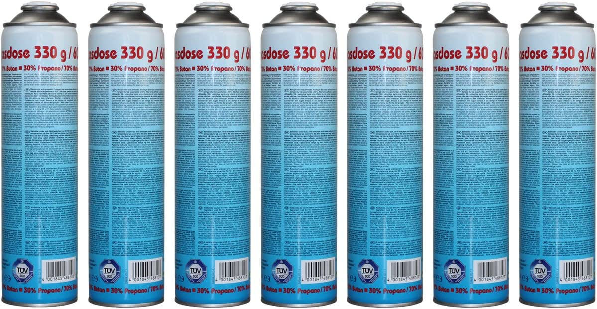 600ml EN 417-1 St/ück CFH Druckgasdose 330g