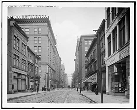 Amazoncom Vintography 8 X 10 Reprinted Old Photo Of Penn Ave
