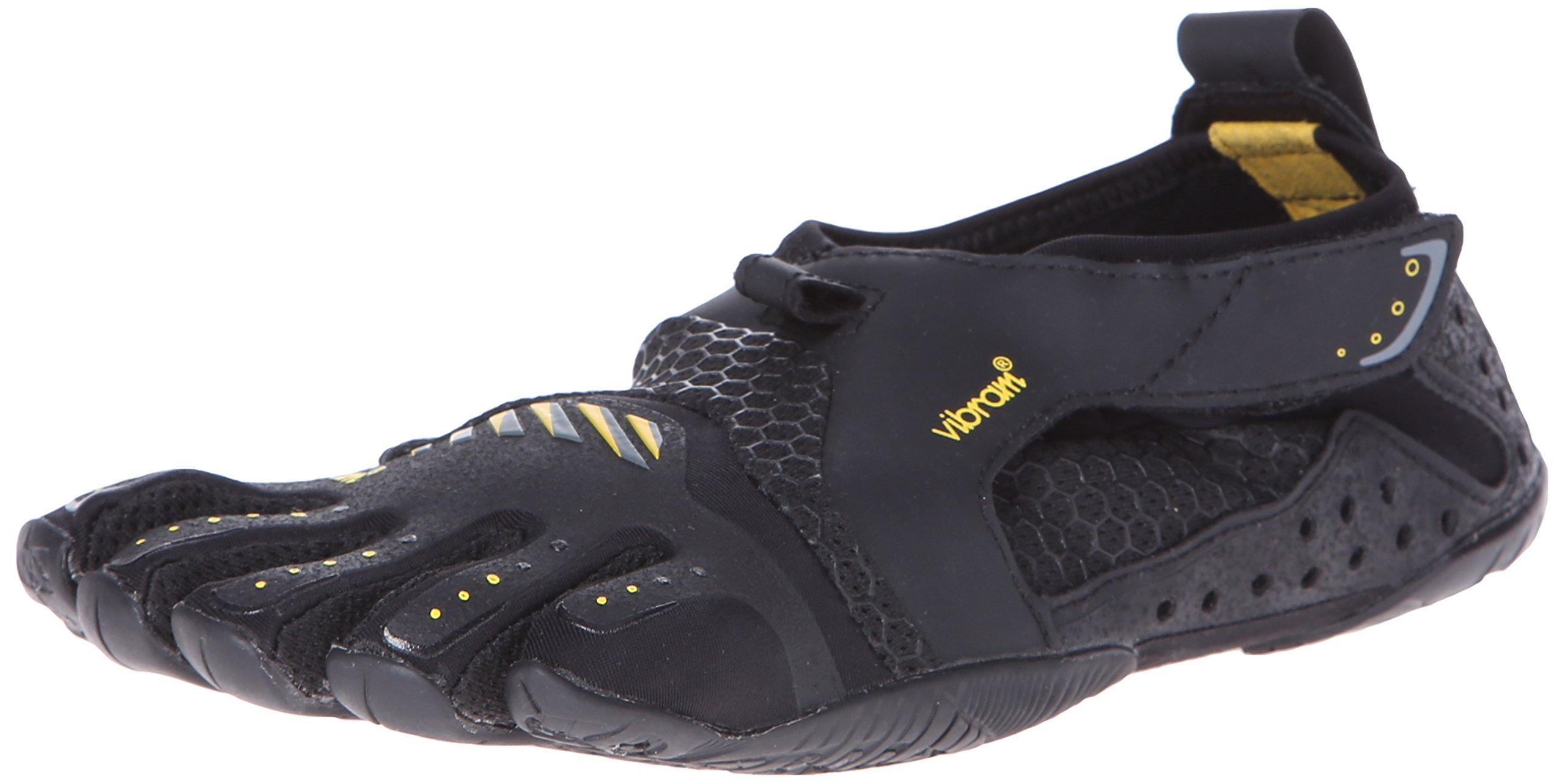 Vibram Women's Signa Water Shoe, Black/Yellow,37