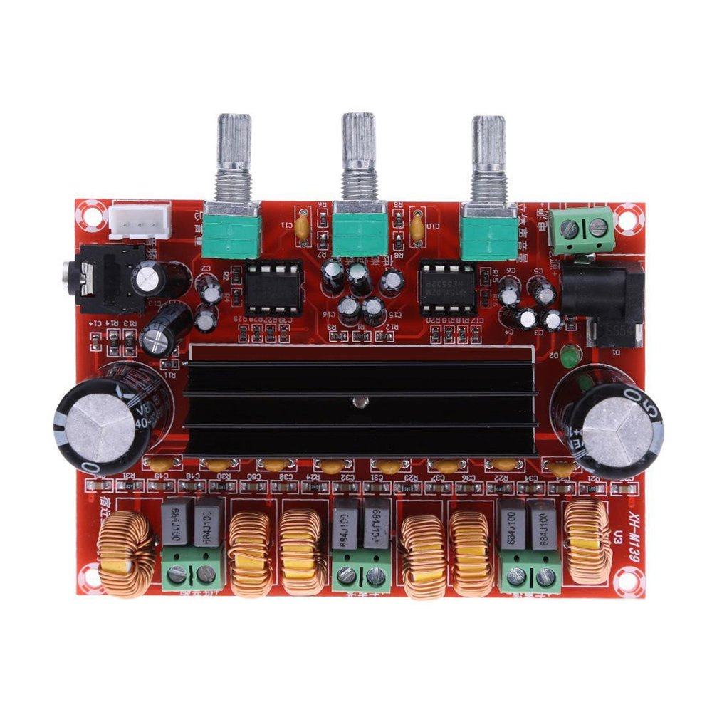 Aideepen Tpa3116d2 50wx2 100w 21 Channel Digital Subwoofer Power Amplifier Board Pcb For Audio Circuit Quotes Home Theater