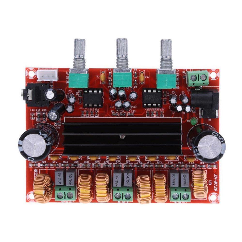 Aideepen TPA3116D2 50Wx2+100W 2.1 Channel Digital Subwoofer Power Amplifier Board