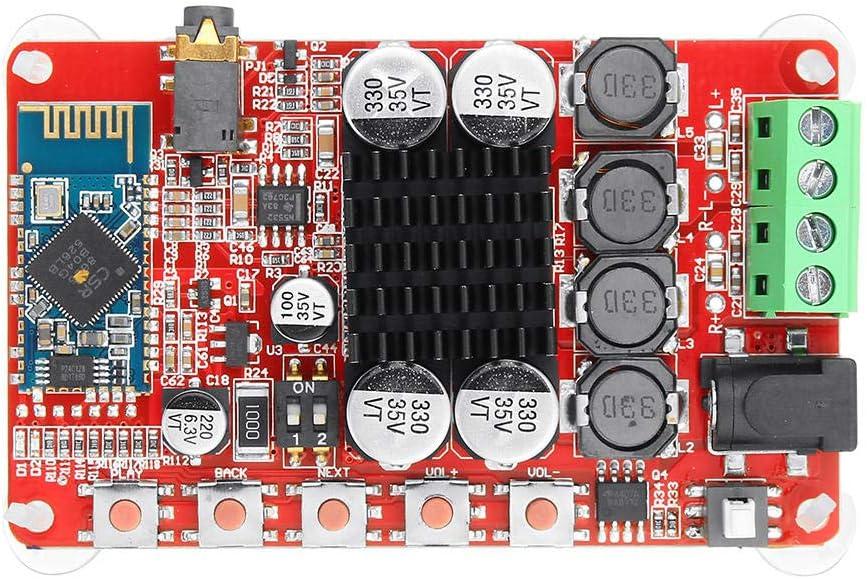 Condensadores 50W + 50W TDA7492 CSR8635 inalámbrica Bluetooth 4.0 Audio Junta Receptor Amplificador NE5532 preamplificador 5Pcs