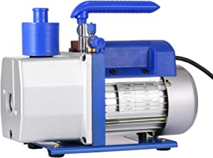 Mophorn Vacuum Pump HVAC 7 CFM 0.5HP Single Stage Vacuum Pump Refrigeration AC Air Conditioning Refrigerant Vacuum Evacuation Pump