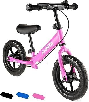 Lonlier Bicicleta para Niños sin Pedales Asiento y Manilla ...