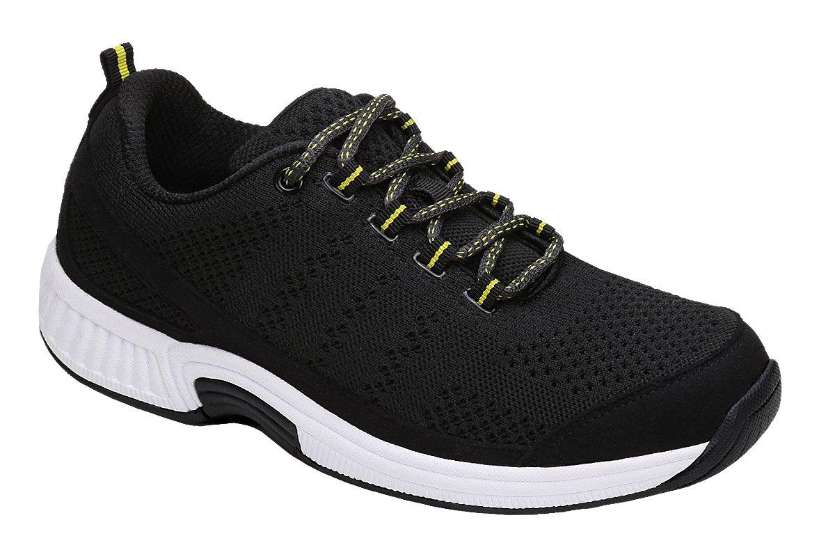 Orthofeet Coral Women's Comfort Orthopedic Arthritis Diabetic Orthotic Sneakers Black Synthetic 8.5 M US