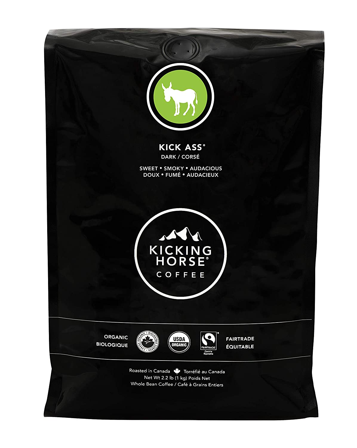 Kicking Horse Coffee, Kick Ass, Dark Roast,
