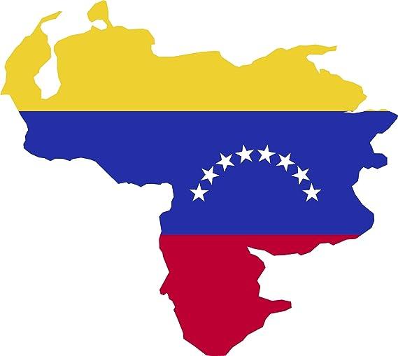 VENEZUELA #1 COUNTRY VINYL FLAG DECAL STICKER