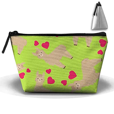 ORAGNIZERS ERE Cute-Llamas Unisex Zipper Storage Multifunction Toiletry Bags Handy Buggy Bags free shipping
