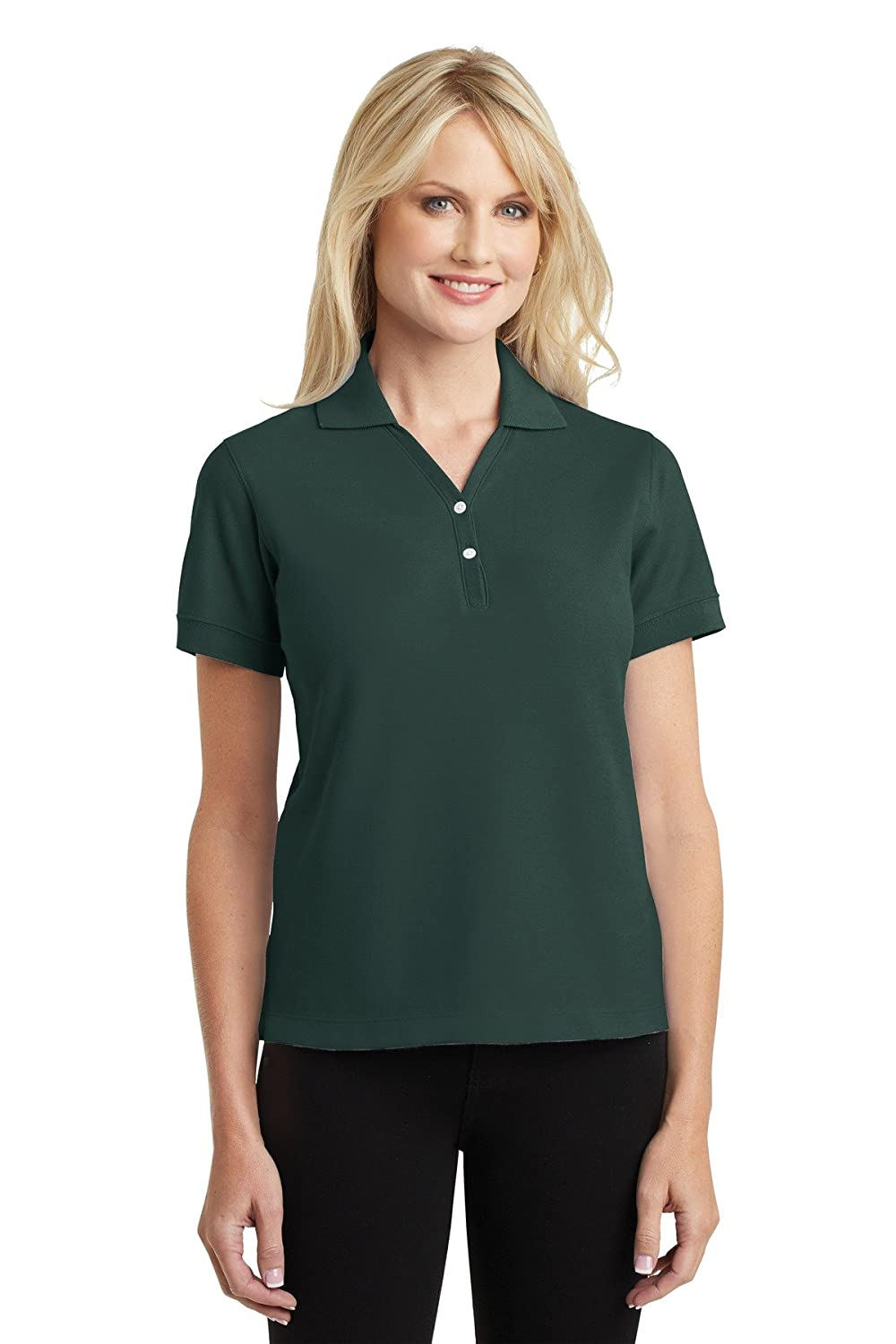 Port Authority Women's Lightweight Y-Placket Polo Shirt L448