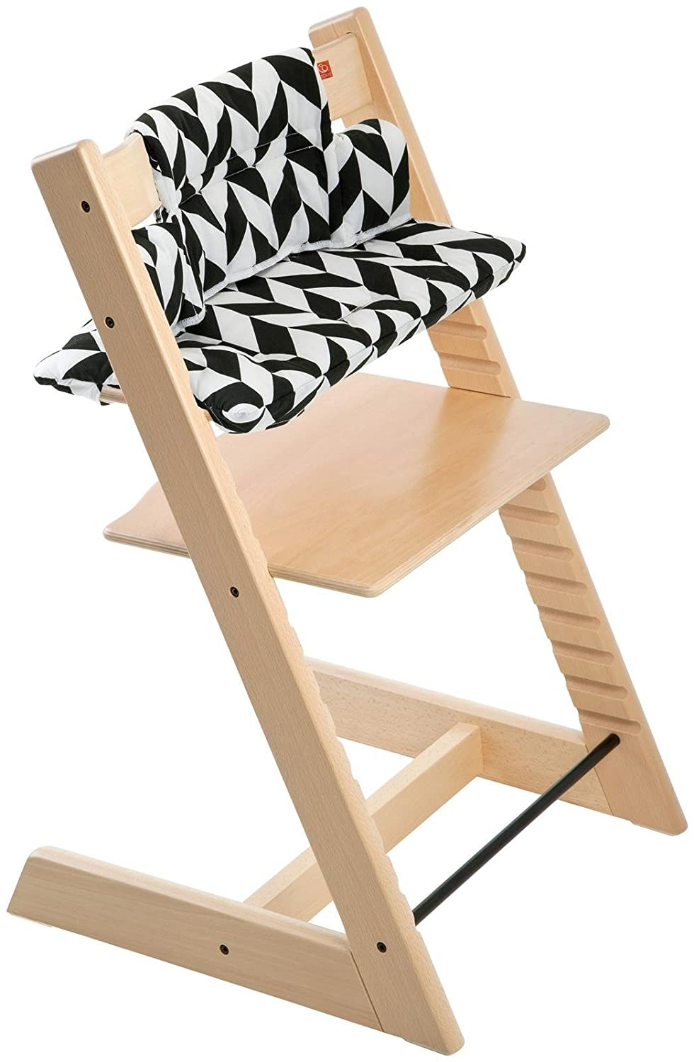 Stokke Tripp Trapp Cushion, Grey Star - Chair Not Included 146026