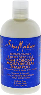 product image for Shea Moisture Mongongo & Hemp Seed Oils High Porosity Moisture-seal Shampoo, 13 Ounce
