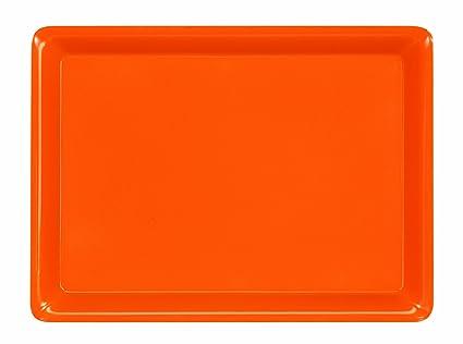 Platex 90112720415 Vestah - Bandeja (melamina), color naranja