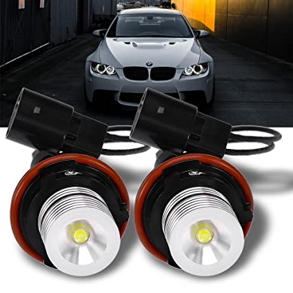 Amazon Com Qkparts High Power Angel Eyes Led Ring Marker
