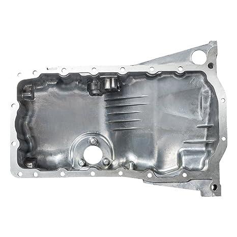 Aceite Pan Para Audi A4 VW Passat 1.8L Sensor de aceite de aluminio w/