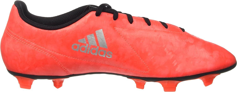 adidas Conquisto II FG, Botas de fútbol para Hombre Multicolore Solred Silvmt Cblack