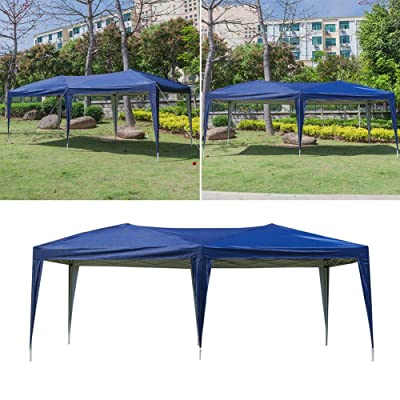 NioEsho Waterproof Sunscreen Tent Car Sunscreen Tent Advertising Tent Tent OutdoorCanopy Canopy Tent with Tilted Leg Shadow Tent, Awning Tent and Trolley Bag-Commercial Shelter Instant Tent Windproof : Garden & Outdoor