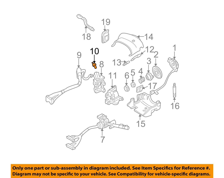 Genuine Gm 12369498 Ignition Lock Cylinder Automotive Diagram Of Chevy Express 1500 Cargo Van Engine