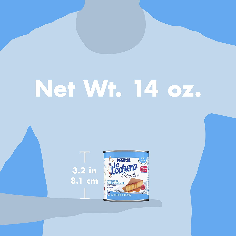 La Lechera Sweetened Condensed Milk, 14 Oz: Amazon.es: Alimentación ...