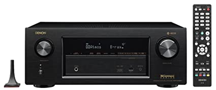 Denon AVRX2400H 7 2 Channel AV Receiver with Built-in HEOS wireless  technology, Works with Alexa (Discontinued by Manufacturer)