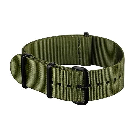 Green military fabric NATO band