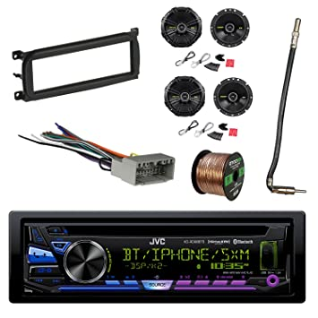 Amazon.com: JVC 1-DIN Bluetooth Car Stereo with Kicker 600W SPKR(2 on jeep knock sensor, jeep sport emblem, jeep gas sending unit, jeep carrier bearing, jeep condensor, jeep tach, jeep exhaust gasket, jeep bracket, jeep wire connectors, jeep intake gasket, jeep key switch, jeep exhaust leak, jeep vacuum advance, jeep relay wiring, jeep seat belt harness, jeep wiring connectors, jeep electrical harness, jeep wiring diagram, jeep engine harness, jeep visor clip,