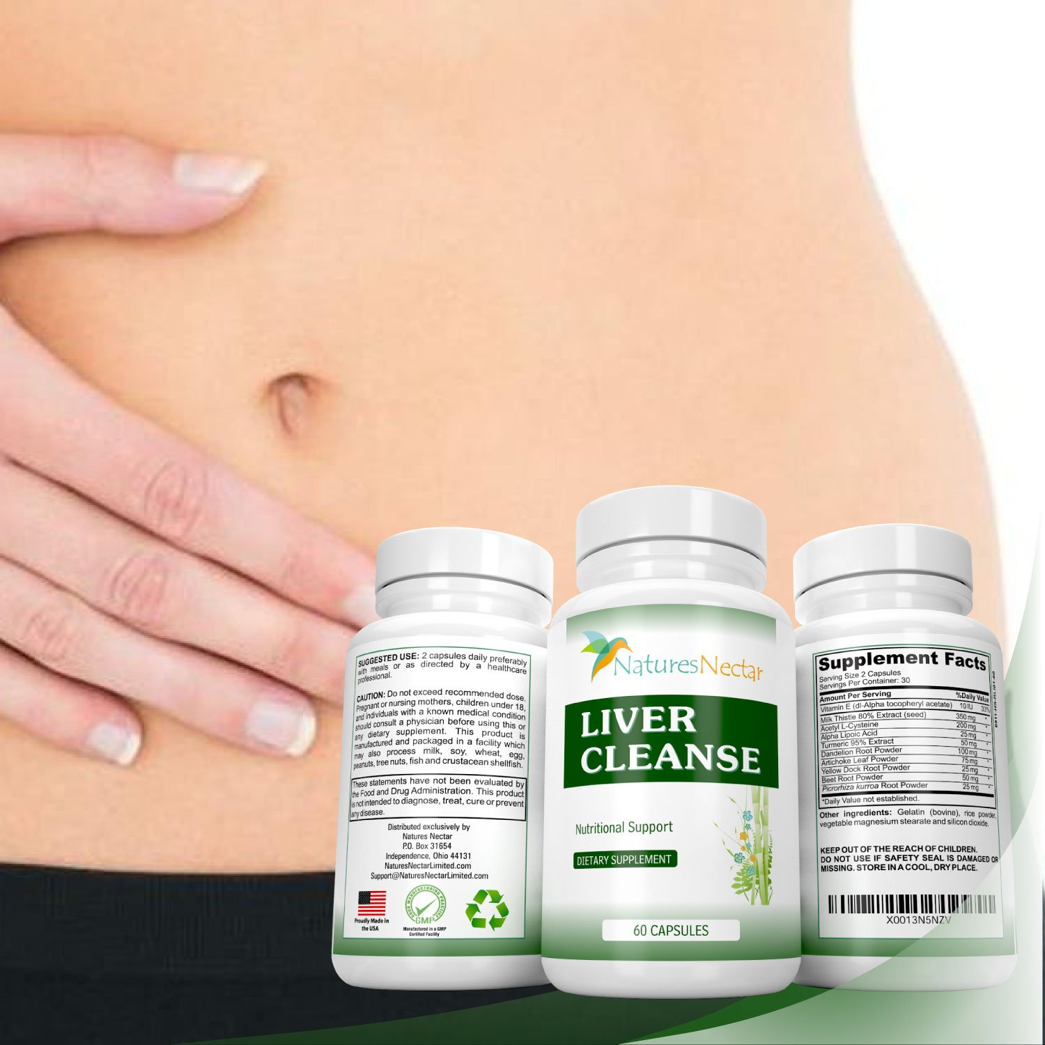 Liver Cleanse & Liver Detox Support Supplement - This ...