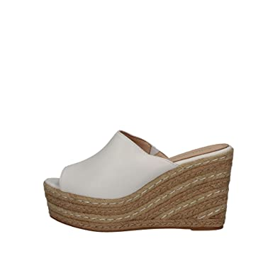 SARA LOPEZ 18122B Sneakers Femme Blanc 36 2OwmZj
