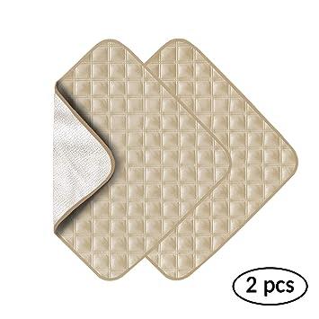Amazon.com: NewBeau 2 Pack Ultra Absorbente Lavable ...