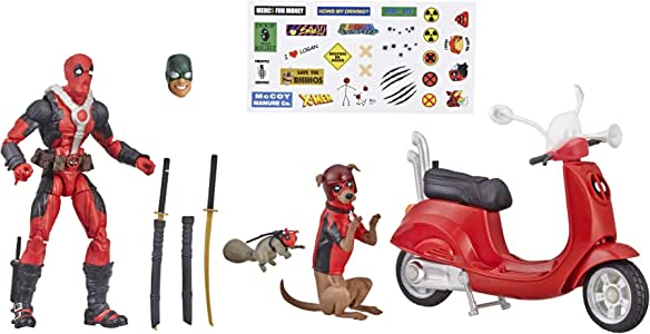 """Marvel Legends Series 6"""" Deadpool with Scooter"""